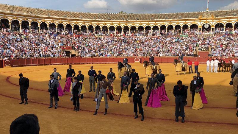 Resultado de imagen de el festival Taurino de la Macarena en Sevilla